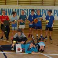 Więcej o: Mistrzostwa Sopotu igrzysk dzieci dziewcząt i chłopców w koszykówce 3X3
