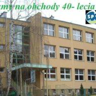 Więcej o: Obchody 40 – lecia szkoły