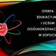 Więcej o: Zapraszamy do zapoznania się z ofertą I LO w Sopocie
